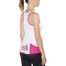 Compressport TR3 Ultra Triathlon Tank Top Women White